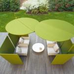 Sombrillas de diseño moderno en GUNNI&TRENTINO