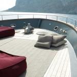 Poufs y muebles para cubiertas de yate