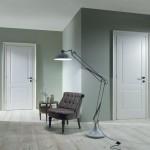 Puertas clásicas de interior lacadas en blanco
