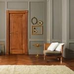 Puertas de interior clásicas en madera