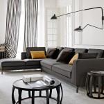 Salón moderno con mobiliario de Maxalto
