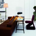 Salón moderno con muebles Arflex