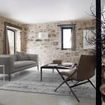 Salón moderno con sofá Charles de Antonio Citterio para B&B Italia