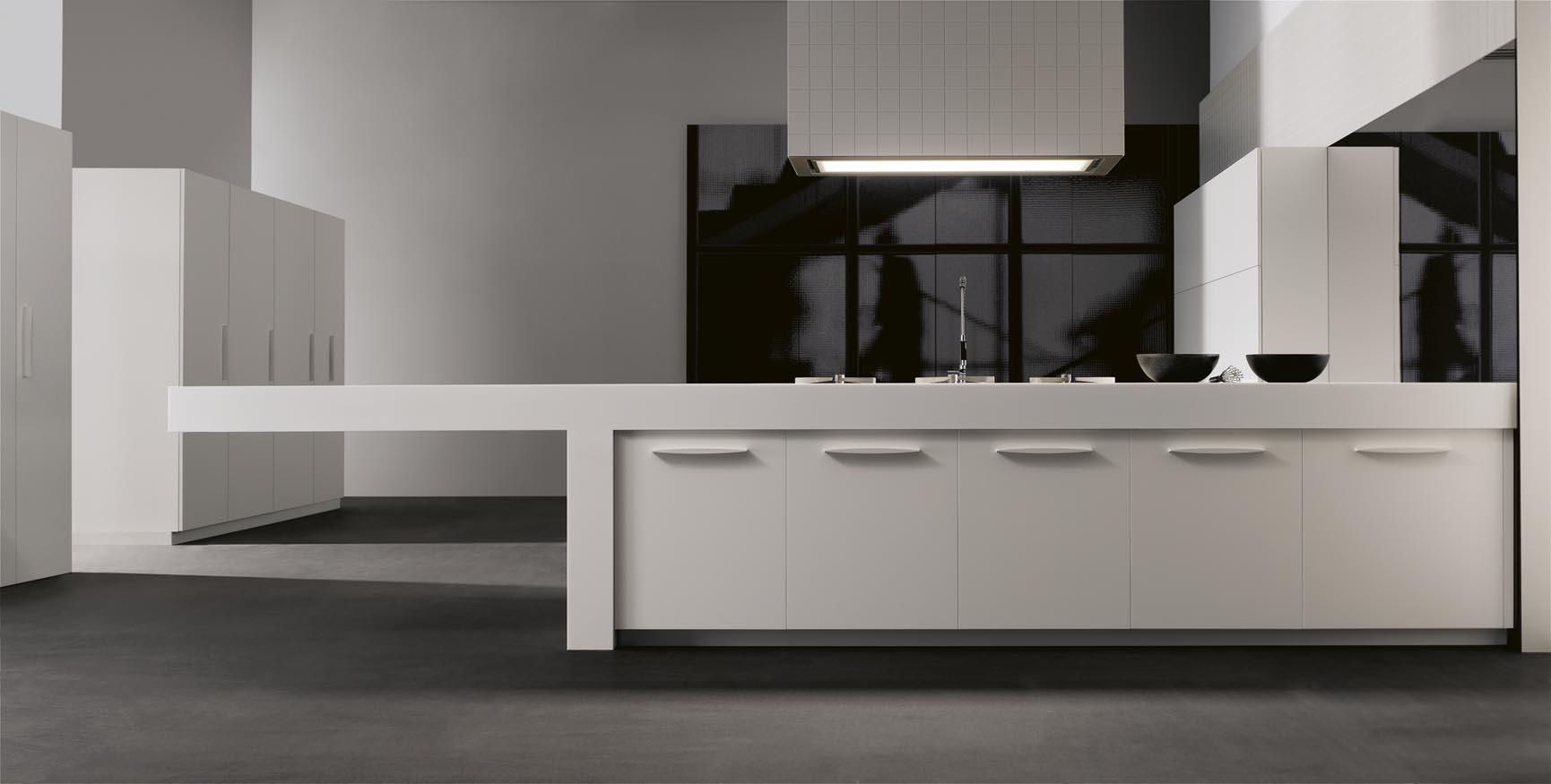 Cocinas sencillas modelo settina gunni trentino for Cocinas modernas outlet