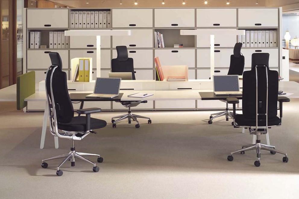 cb3fc571f2049 Sillas giratorias de oficina diseño de Bellini para Vitra 1 · Muebles ...
