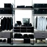 Sistema de estanterías y cajones para armarios y vestidores de Gunni & Trentino