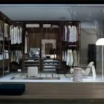 Sistemas de estanterías y almacenaje para vestidores