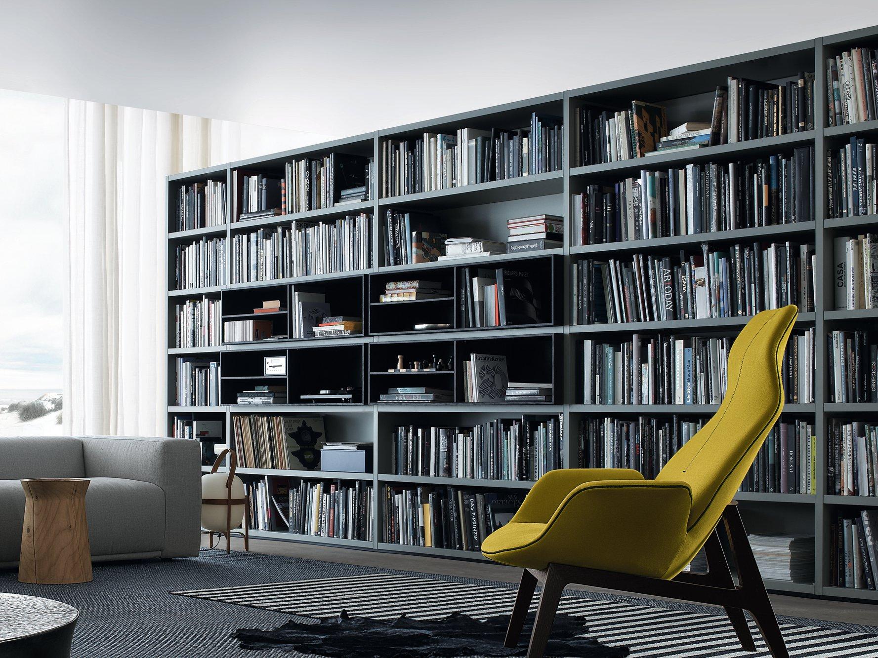 Sistemas de estanter as y muebles tv de poliform for Stili di design per la casa americana