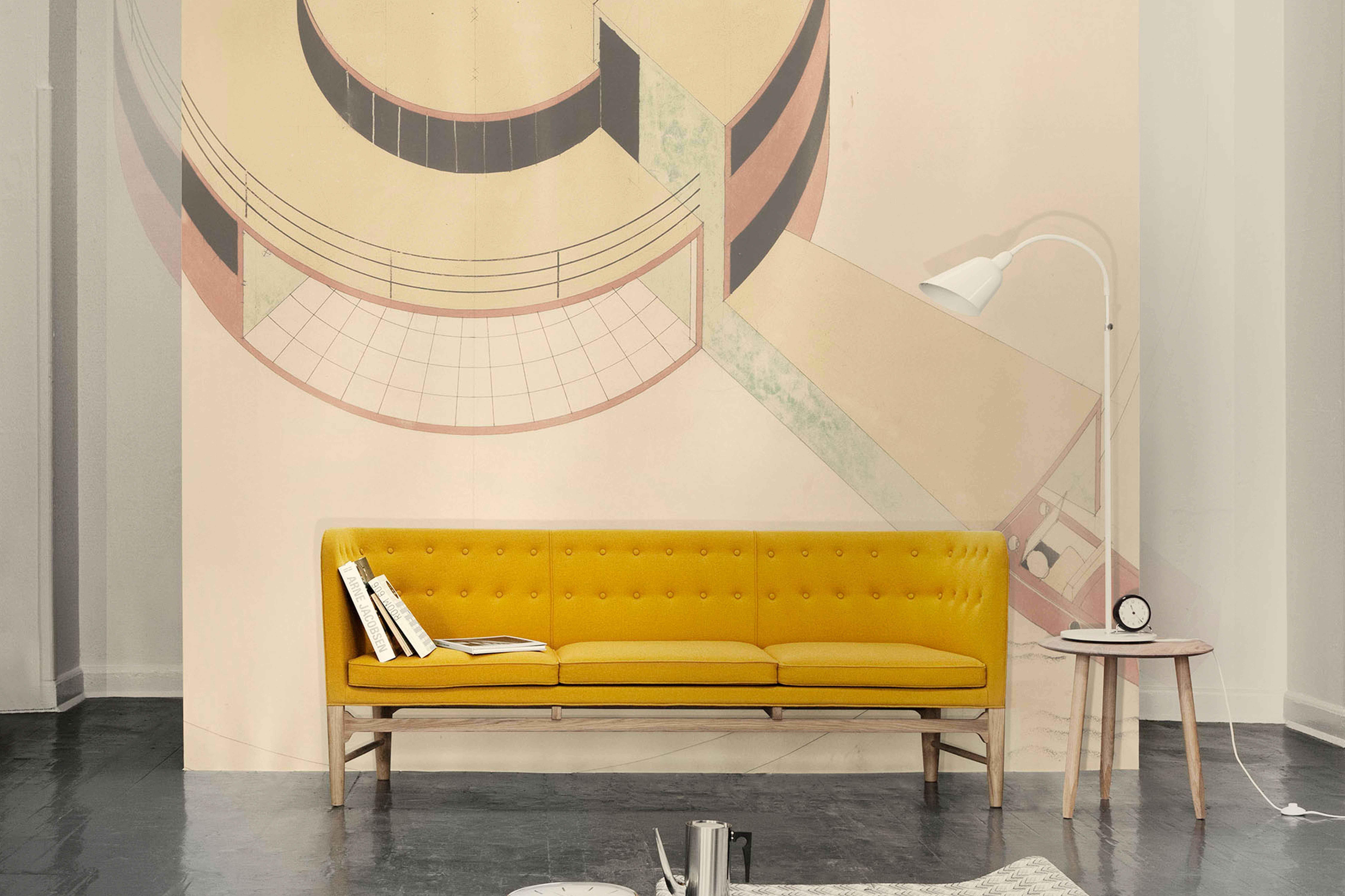 Sofá Mayor, diseño de Arne Jacobsen