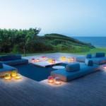 Sofás de exterior modelo Agadir de Paola Lenti