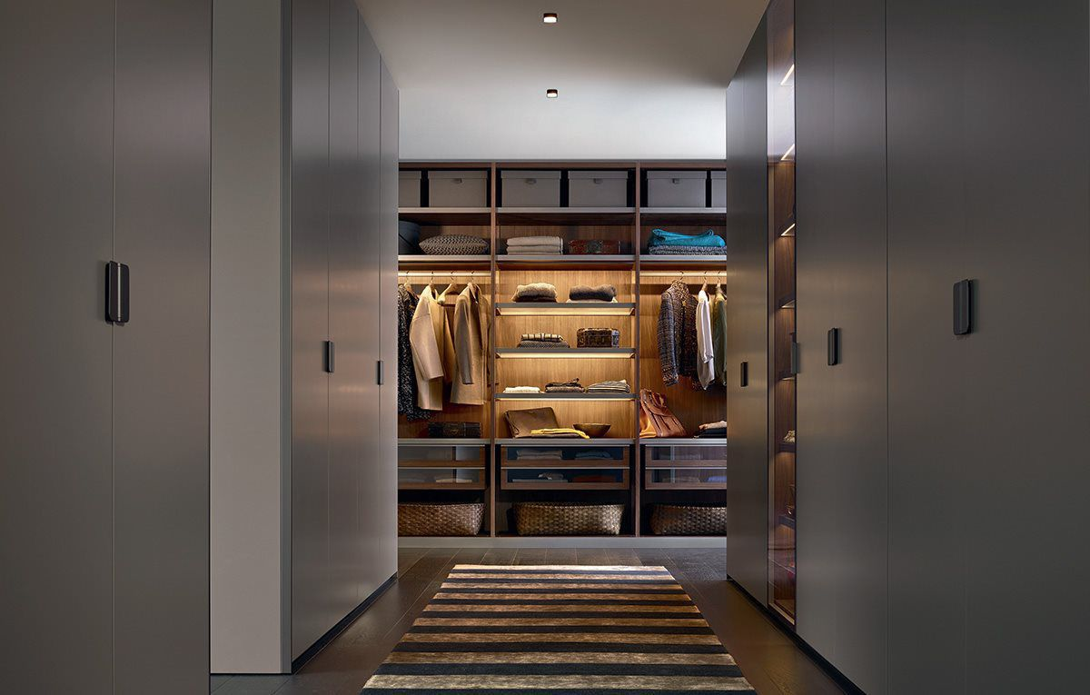 Armarios y puertas a medida con dise os modernos en gunni - Iluminacion interior armarios ...