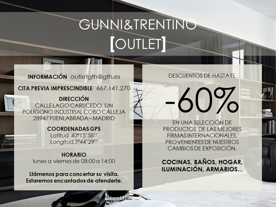 Outlet - Gunni trentino home ...