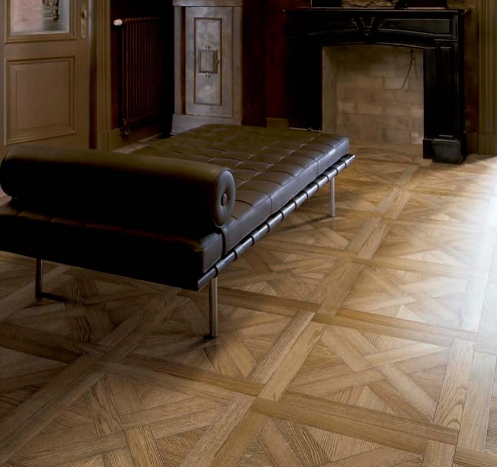 Suelos de madera modelo Chevron de Gunni & Trentino