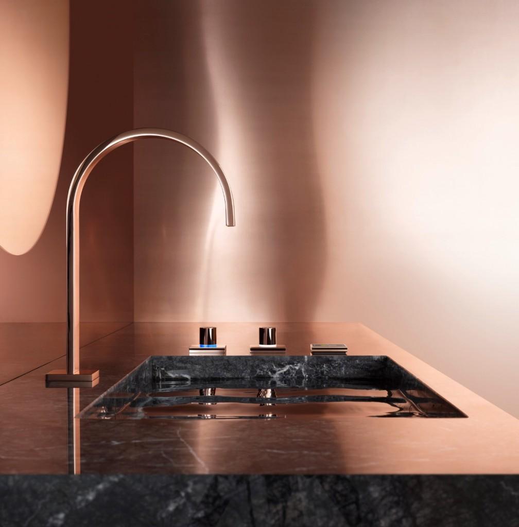 Griferas de lujo para cocina y baños | GUNNI&TRENTINO