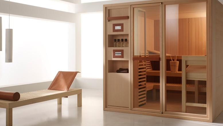 sauna master de effegibi para newsletter