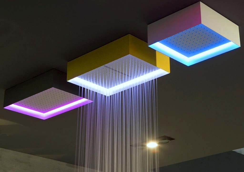 Cabeza de ducha de techo modelo Fuorimeteo