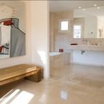 Pavimentos y revestimientos en mármoles GUNNI&TRENTINO para el baño