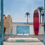 Alfombra de extrerior Surf, de Gandía Blasco