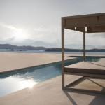 Cama de día elevada reclinable de Gandía Blasco