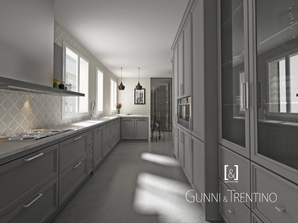 Cocinas de diseño, modernas y de lujo en GUNNI&TRENTINO