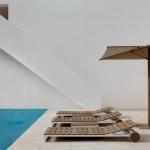 Tumbona de jardín reclinable de Gandía Blasco