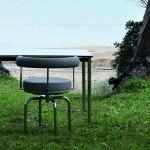 LC7, la silla de Charlotte Perriand para exterior