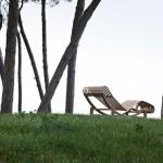 Lounge chair de exterior de Cassina