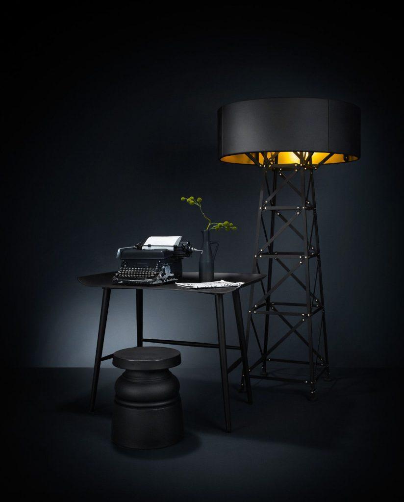 Lámpara de pie Construction de Mooi.