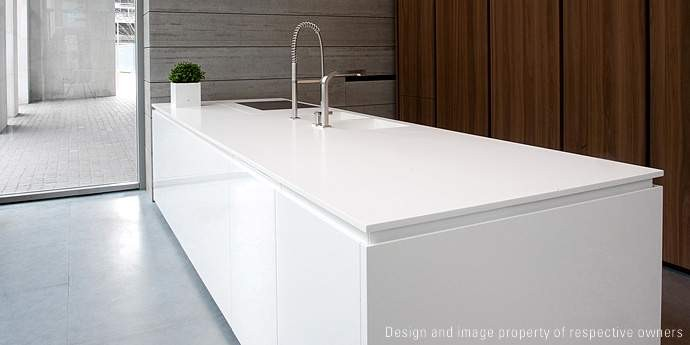 DuPont Corian superficies y cerámicas