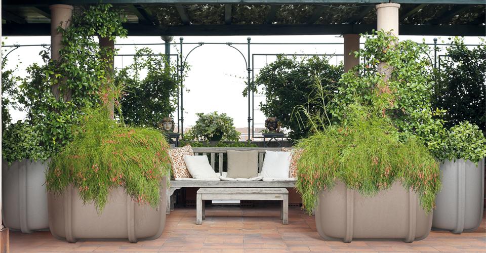 Mobiliario de exterior y para jardín Serralunga