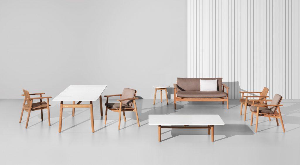 muebles de jardín madera Kettal
