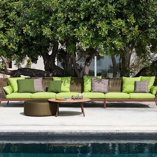 sofas de exterior de diseño