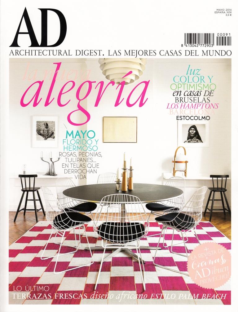 Salón Interior de Diseño y Lujo de Gunni & Trentino en Portada AD