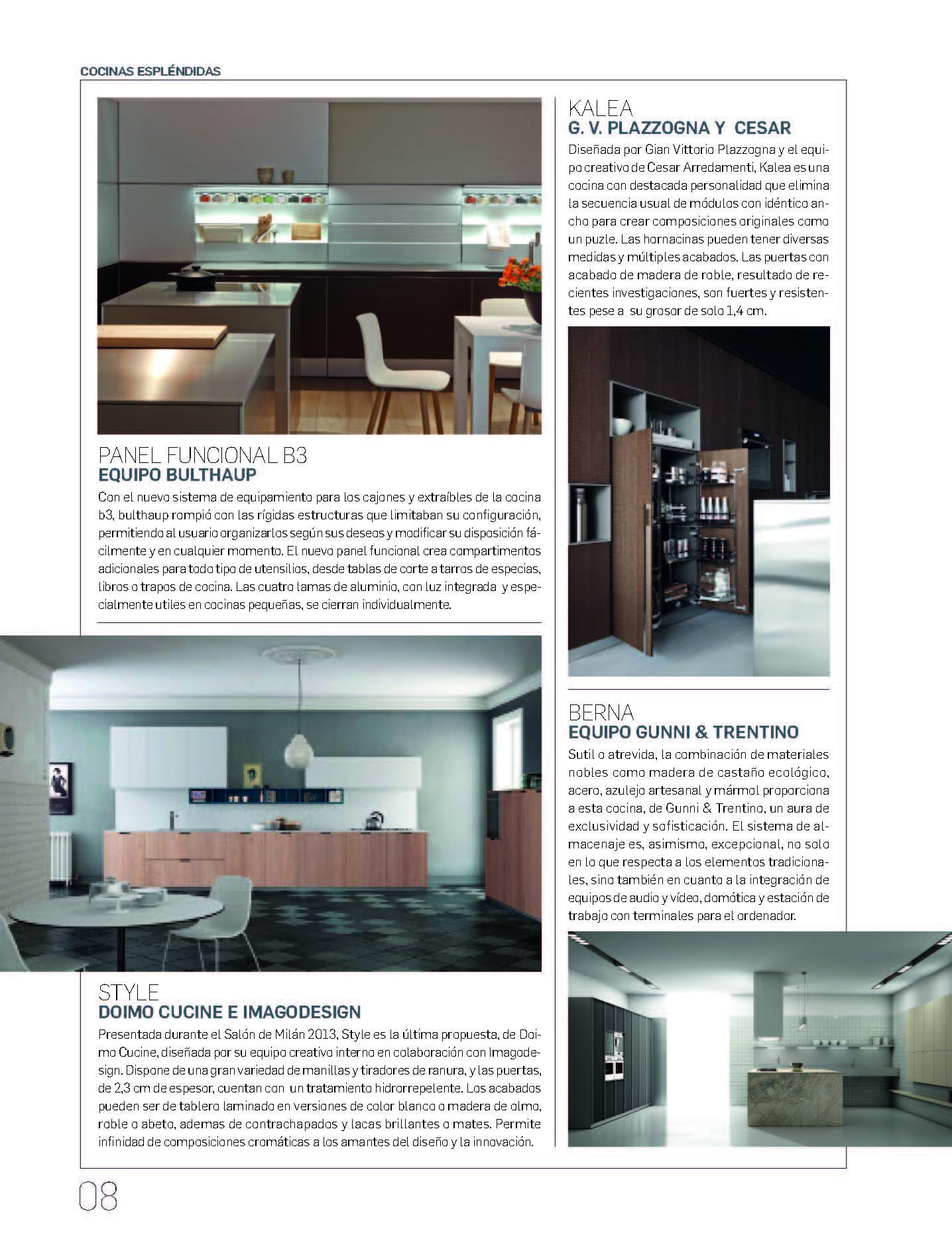 , Arquitectura & Diseño 2013, Gunni & Trentino
