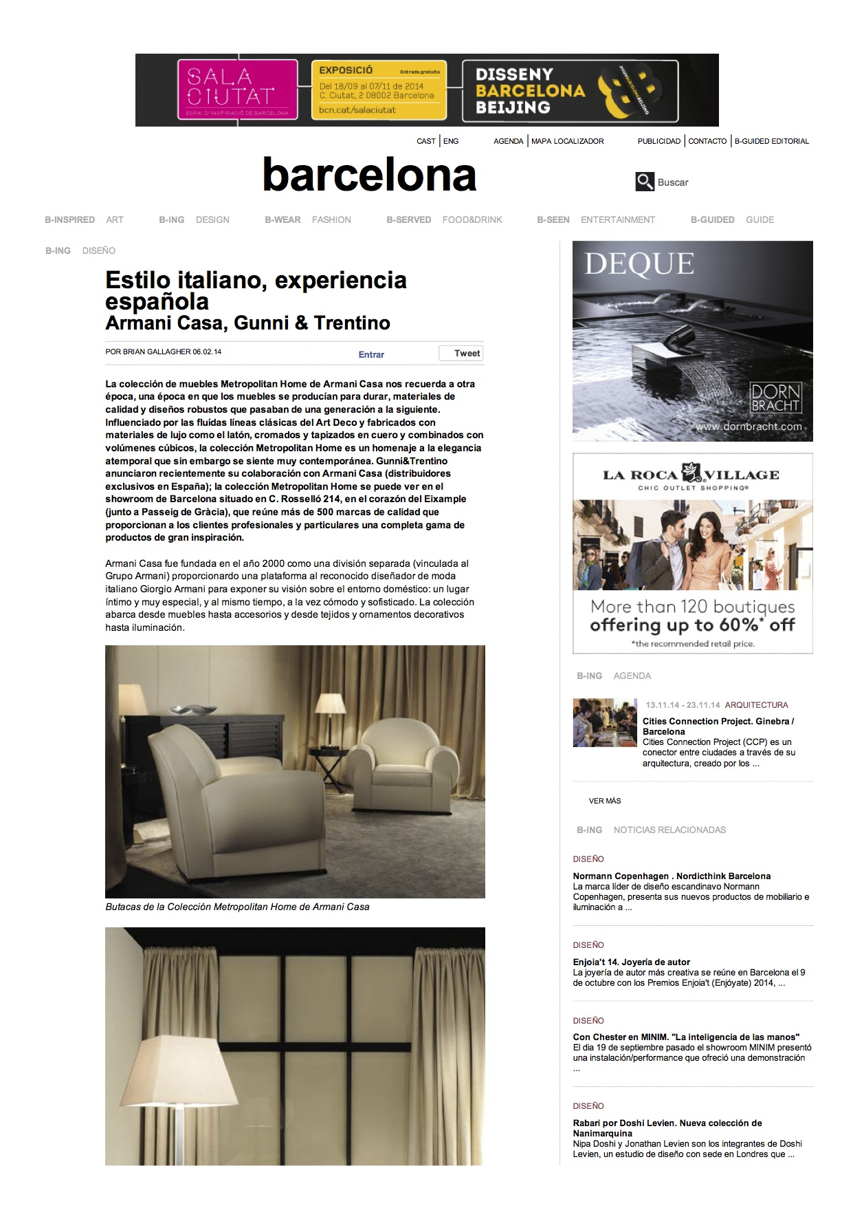 , B-Guided Barcelona febrero 2014, Gunni & Trentino
