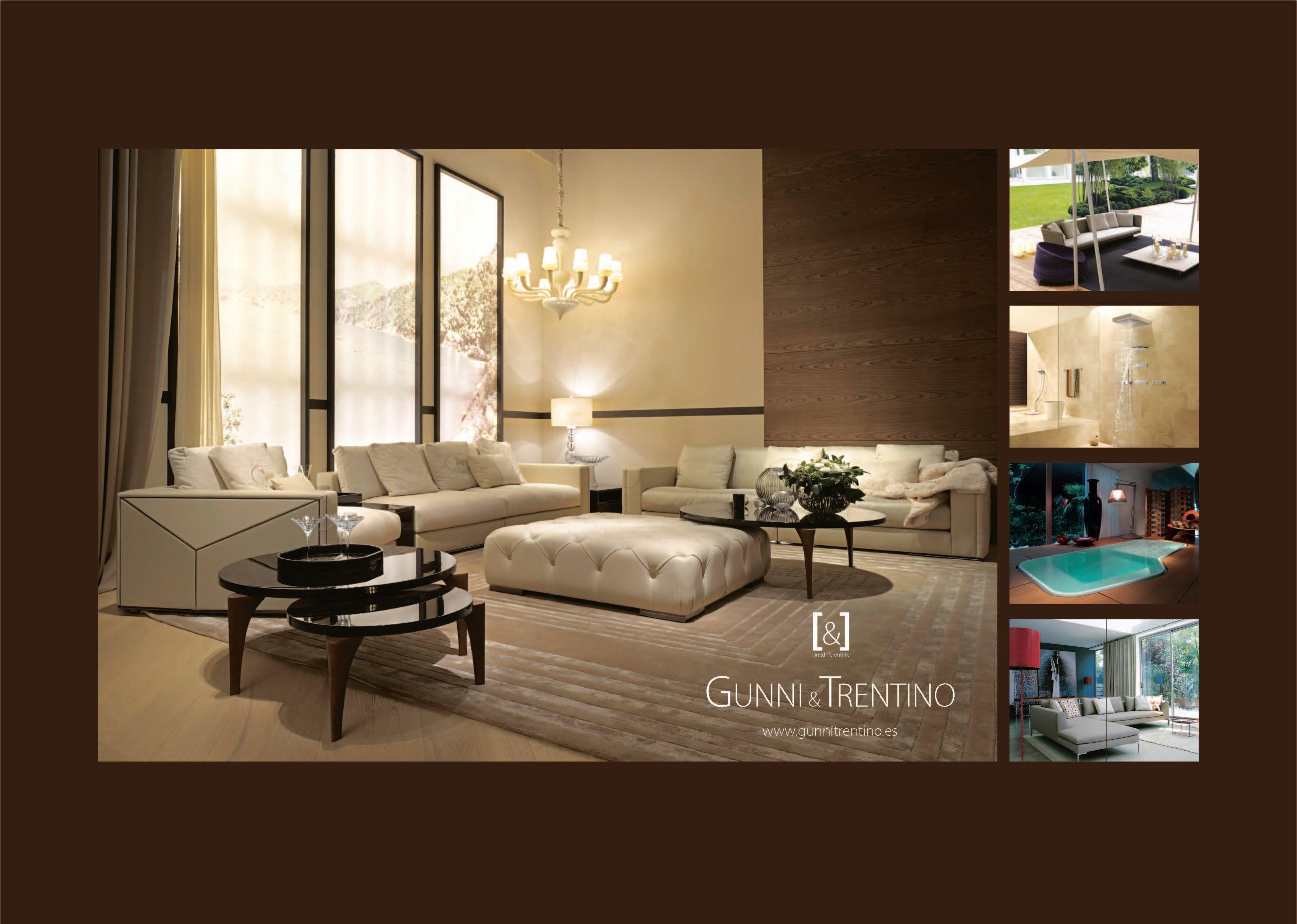 Mobiliario de Diseño y Lujo por Gunni & Trentino