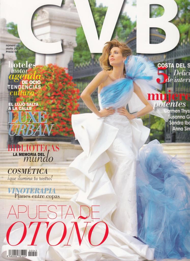Portada CVB Otoño 2013: revista de lujo