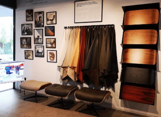 Exposición Especial: Vitra Lounge Chair Atelier, en GUNNI&TRENTINO