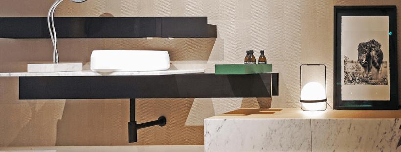 A petición del público, la exposición de mobiliario de baño Ágape, se queda un tiempo más.