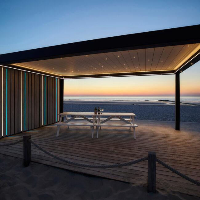 Sistemas de Protección Solar de lujo con grandes diseños