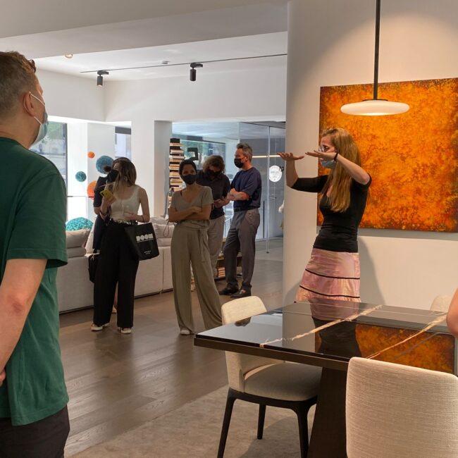Marset presenta sus nuevas lámparas de diseño en la tienda de Madrid